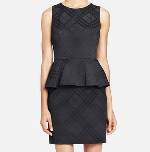 Cynthia steffe Simone plaid peplum dress